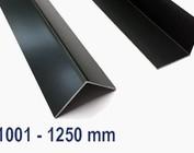 Aluminium antraciet tot een lengte van 1250 mm (1,25 m)