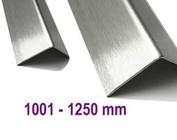 Hoekbescherming Hoeklijn Hoekstrip Roestvrij staal 1.250 mm (1,25 m) lengte