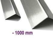 Hoekbeschermer Hoeklijn Hoekstrip Roestvrij staal tot 1.000 mm (1,0 m) lang