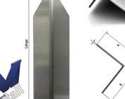 Angle de protection d'angle moderne plié en 1 longueur de 1m à 1,8m