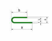 Profil encadrement, profil de serrage en acier inoxydable