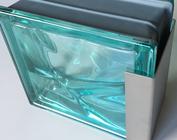 Glasprofiel RVS U-profiel covers glasblokken