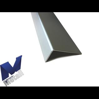 Versandmetall Hoekprofiel Aluminium ongelijke gezet 90° lengten tot 2500 mm