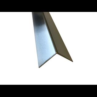 Versandmetall Hoekprofiel Aluminium gelijkzijdig gezet 90° lengte tot 1250 mm