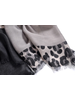 Fashion Favorite Leopard Sjaal Grijs