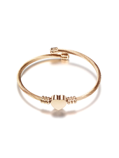 Fashion Favorite Hart Bedel Bangle  Armband Rosékleurig