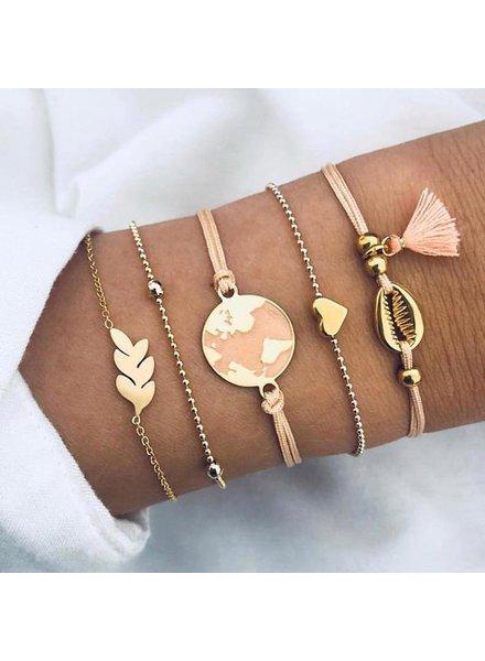 Fashion Favorite Set Armbanden World