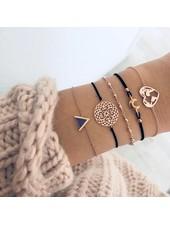 Fashion Favorite Set Armbanden Heart