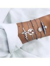 Fashion Favorite Set Armbanden Heartbeat