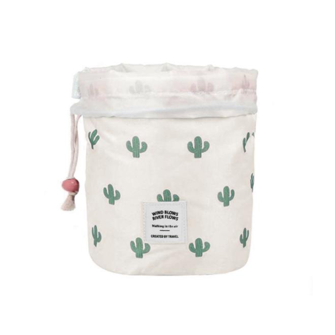 Make Up Organizer / Reistas / Toilettas   Cactus Groen   23 x 17 cm