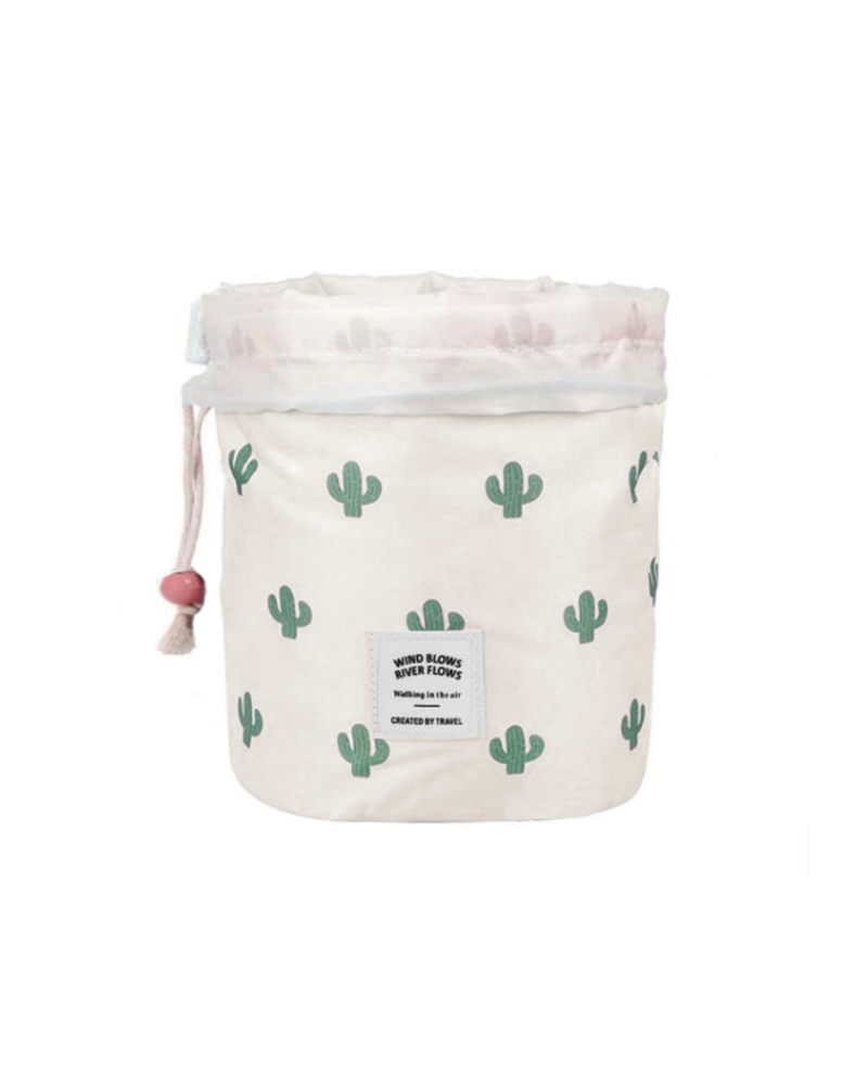 Fashion Favorite Make Up Organizer / Reistas / Toilettas | Cactus Groen | 23 x 17 cm