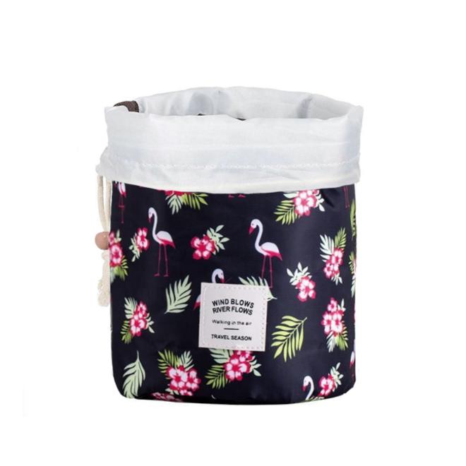 Make Up Organizer / Reistas / Toilettas | Flamingo Zwart | 23 x 17 cm