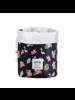 Fashion Favorite  Make Up Organizer / Reistas / Toilettas | Flamingo Zwart | 23 x 17 cm