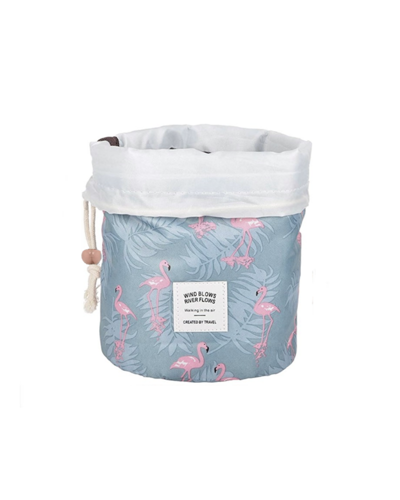 Fashion Favorite Make Up Organizer / Reistas / Toilettas | Flamingo Blauw | 23 x 17 cm