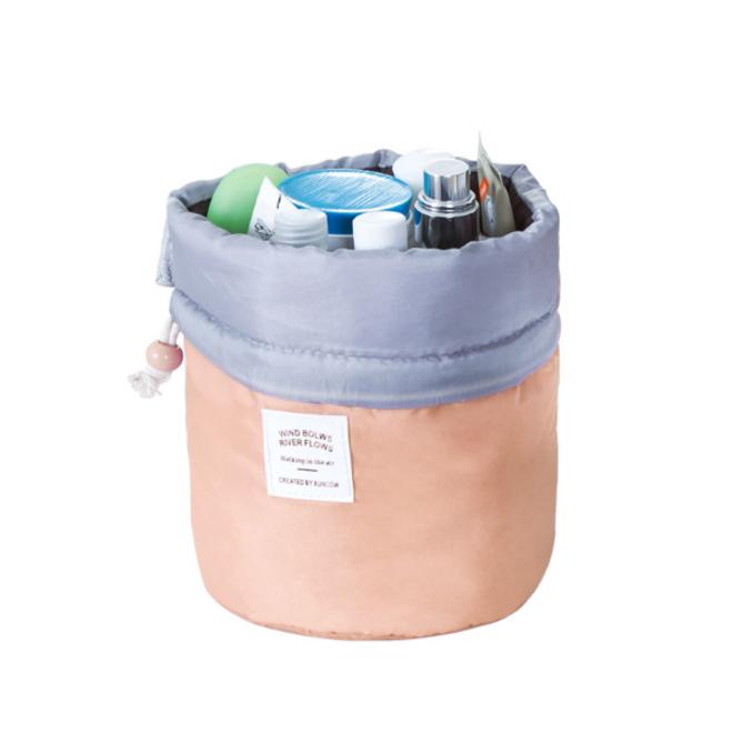 Make Up Organizer / Reistas / Toilettas - Roze / Perzik - 23 x 17 cm