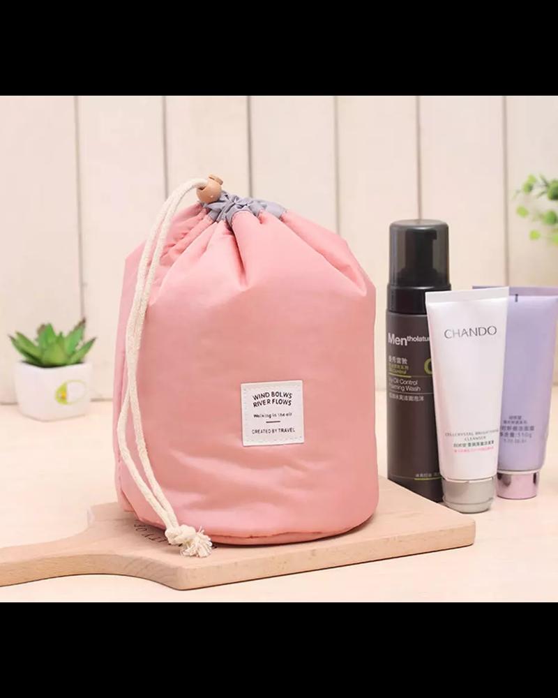 Fashion Favorite Make Up Organizer / Reistas / Toilettas - Roze / Perzik - 23 x 17 cm