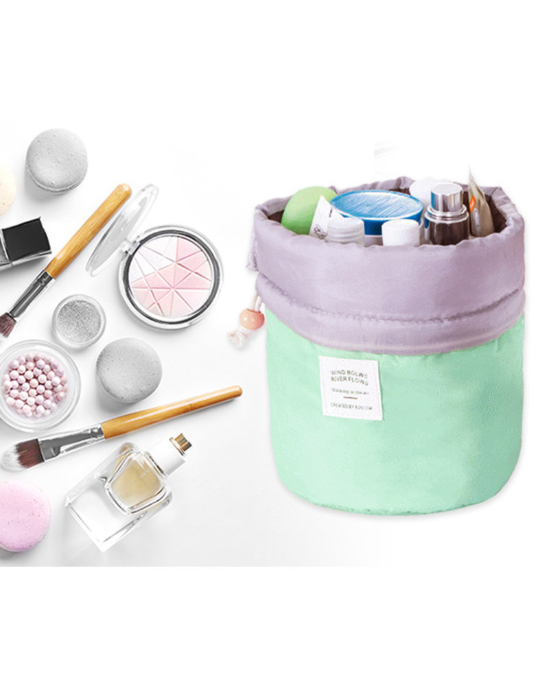 Fashion Favorite Make Up Organizer / Reistas / Toilettas - Mintgroen - 23 x 17 cm