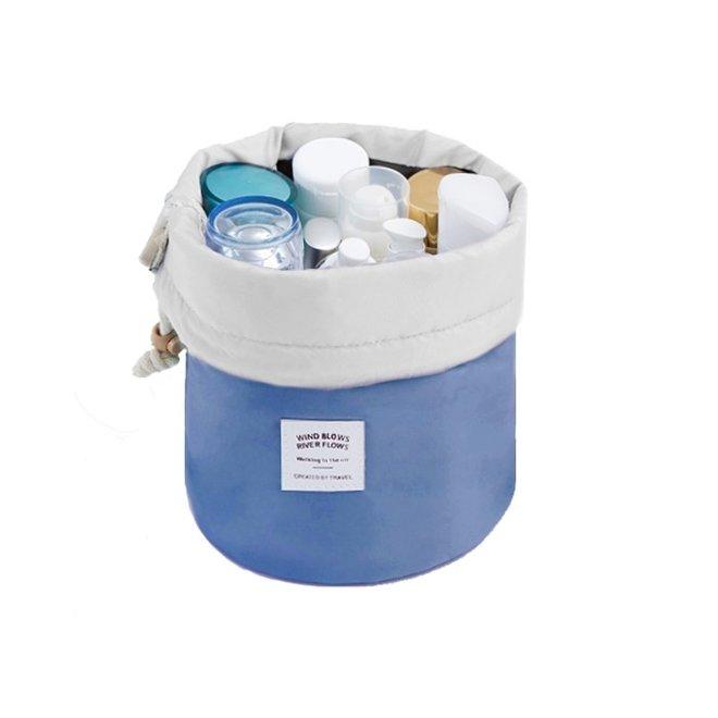 Make Up Organizer / Reistas / Toilettas - Blauw - 23 x 17 cm
