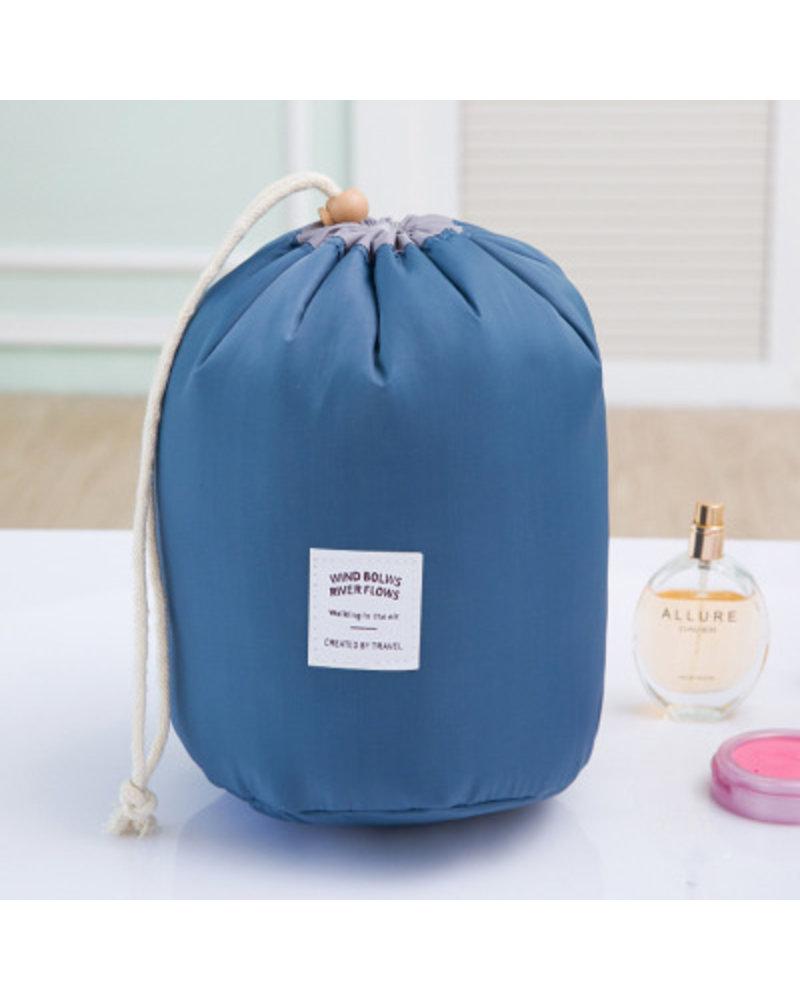 Fashion Favorite  Make Up Organizer / Reistas / Toilettas - Blauw - 23 x 17 cm