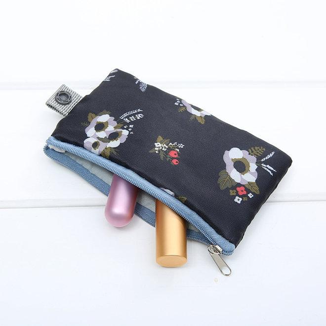 Make Up Organizer / Reistas / Toilettas | Veer Blauw | 23 x 17 cm