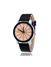 Fashion Favorite Black Ivory Quartz Horloge | Zwart & Crème