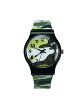 Fashion Favorite Army Kinderhorloge Groen | Camouflage/Leger