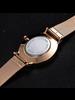 Fashion Favorite Arabic Mesh Rose Horloge | Rosekleurig | Arabische Cijfers | Staal |  Ø 40 mm