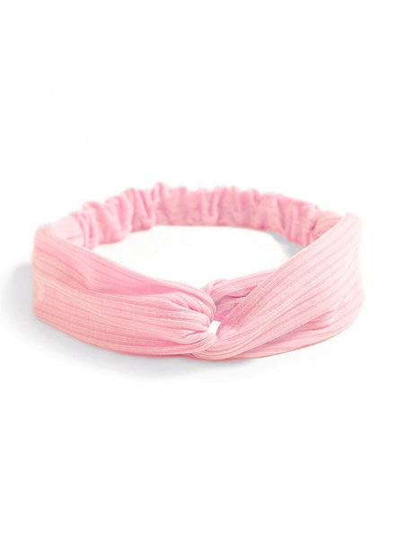 Fashion Favorite Knitted Haarband Lightpink | Roze