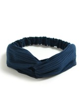 Fashion Favorite Knitted Haarband Navy Blue | Blauw