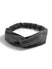 Fashion Favorite Knitted Haarband Dark Grey | Grijs