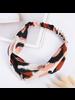 Fashion Favorite Haarband Leopard - Luipaard Roze | Satijn - Polyester | Elastische Bandana