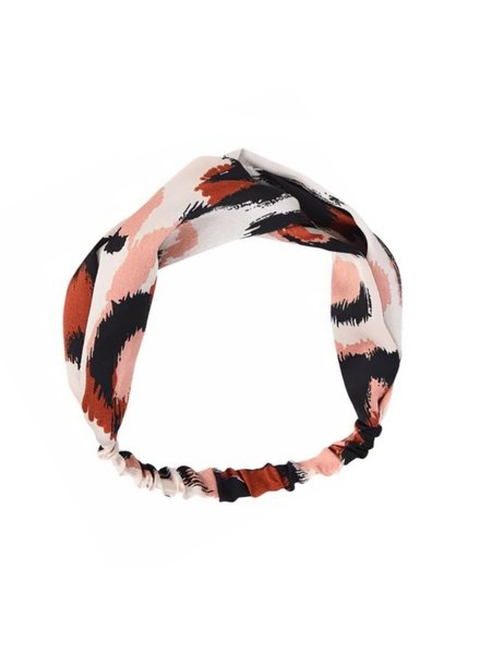 Fashion Favorite Haarband Leopard - Luipaard Roze