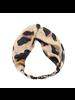 Fashion Favorite Haarband Leopard - Luipaard | Satijn - Polyester | Elastische Bandana