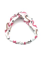 Fashion Favorite Haarband Flamingo Wit