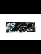 Fashion Favorite Haarband Bloemen Leaf Zwart