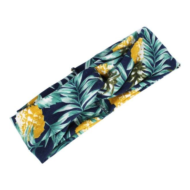 Haarband Bloemen Leaf Ananas
