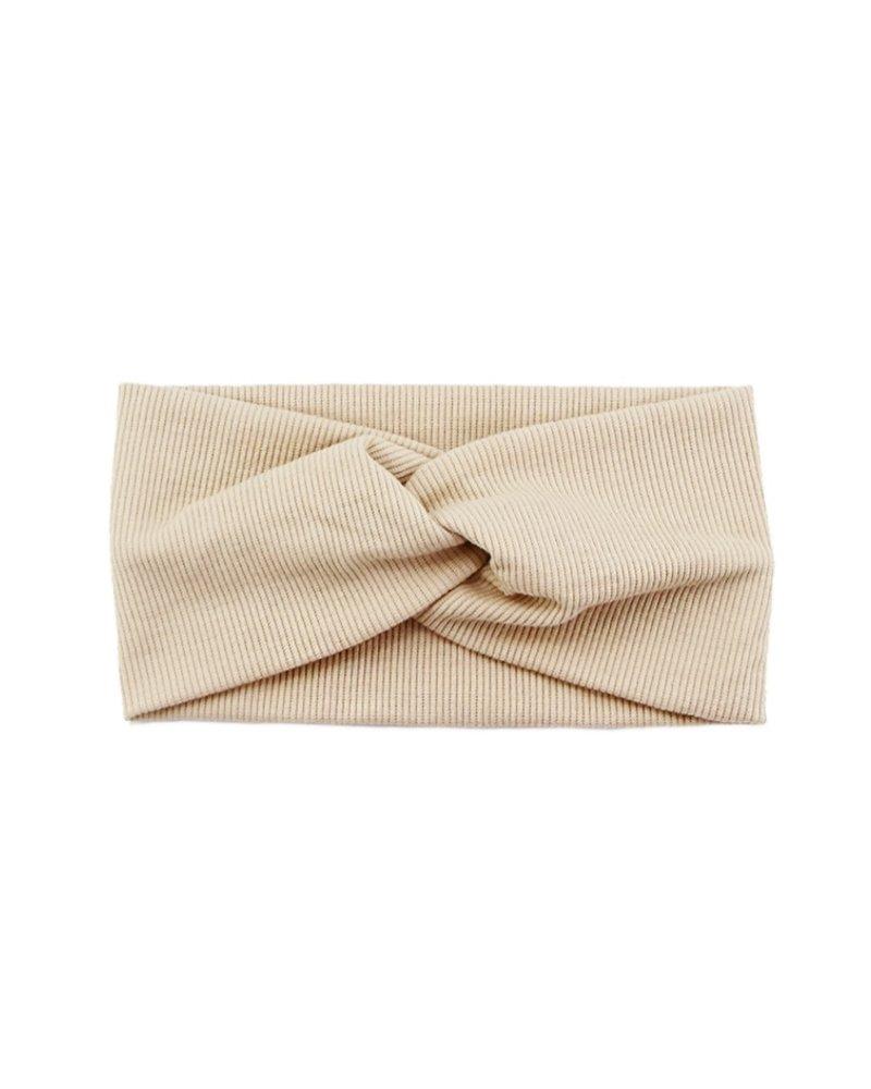 Fashion Favorite Haarband Beige | Bandana | Katoen | Elastisch
