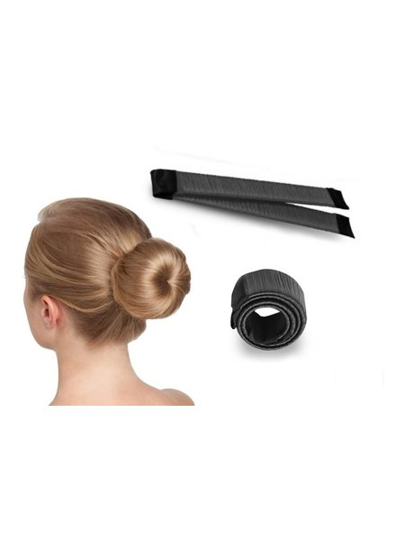 Fashion Favorite Magic Bun / Donut Maker | 1 stuk | Zwart