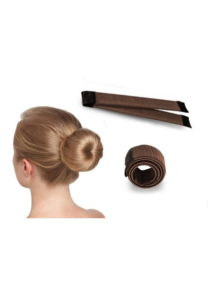 Fashion Favorite Magic Bun / Donut Maker | 1 stuk | Bruin