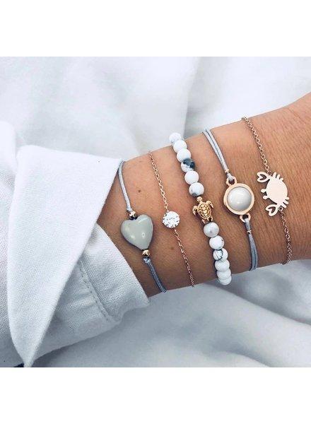 Fashion Favorite Set Armbanden Ocean