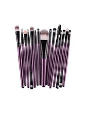 Fashion Favorite 15-delige Make-up Kwasten/Brush Set | Paars