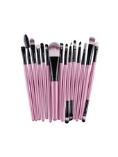 Fashion Favorite 15-delige Make-up Kwasten/Brush Set | Roze