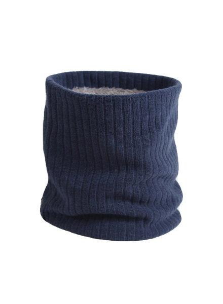 Fashion Favorite Colsjaal Rib Blauw