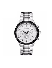 Curren Curren Silver/White Steel - Heren Horloge