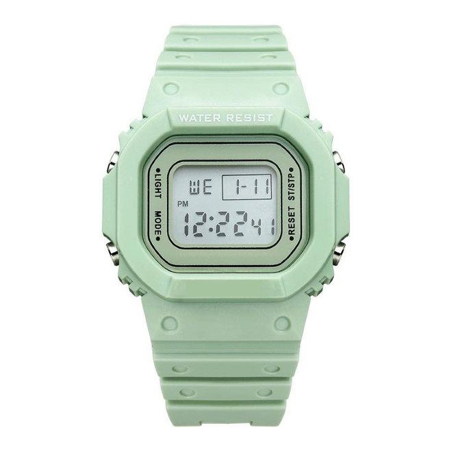 Digitaal Horloge   Mintgroen