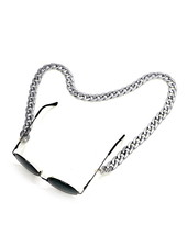 Fashion Favorite Zonnebril Ketting / Brillenkoord Zilver