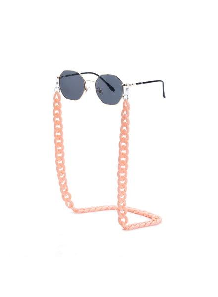 Fashion Favorite Zonnebril Ketting / Brillenkoord Pastel Roze