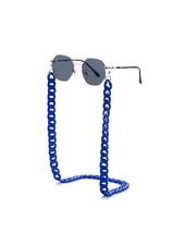 Fashion Favorite Zonnebril Ketting / Brillenkoord Kobalt Blauw