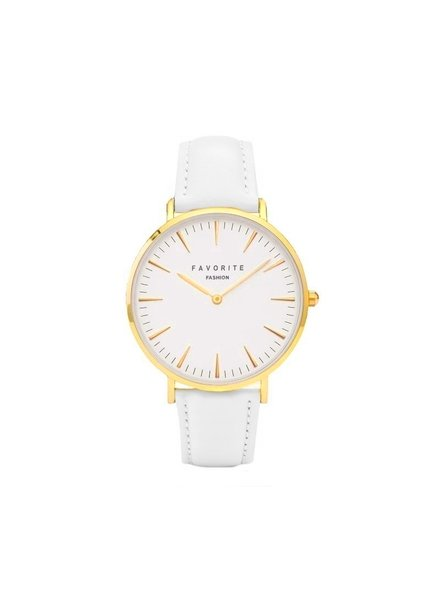 Favorite Fashion Vitória White / Gold 2.0 Horloge