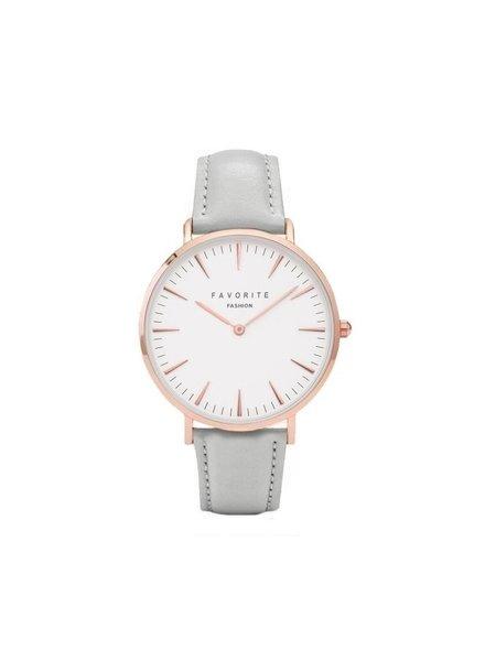 Favorite Fashion Vitória Matt Grey 2.0 Horloge